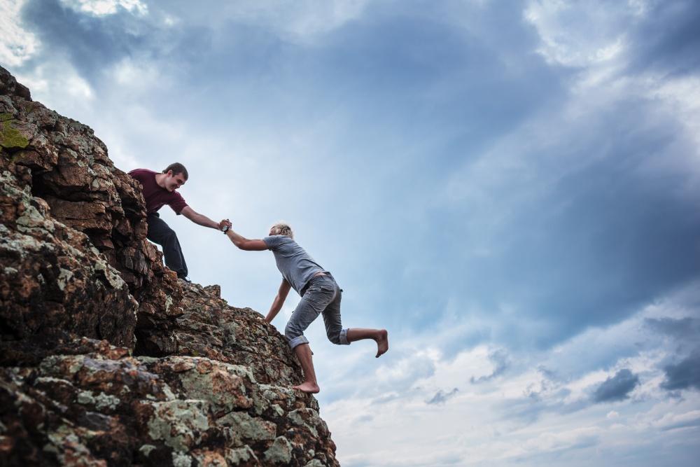 Maxikopa důvodů proč pomáhat druhým