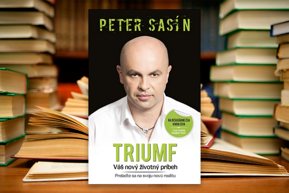 Triumf Petera Sasína