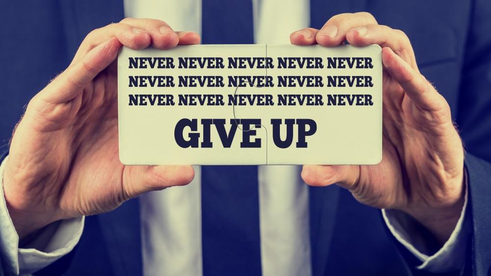 Desatero úspěšné ženy: Nikdy to nevzdávej