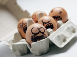 Funny Eggs With Facial Expression